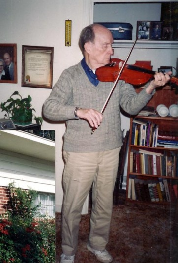 Playing for his family