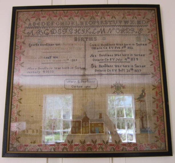 Douglass_family_birth_sampler