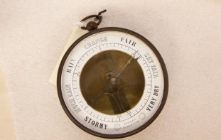 Barometer used by Capt. Melcher