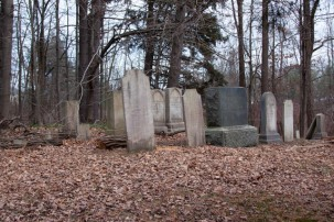 Section with older Seward headstones