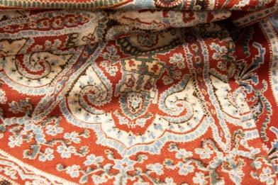 Woven paisley fabric