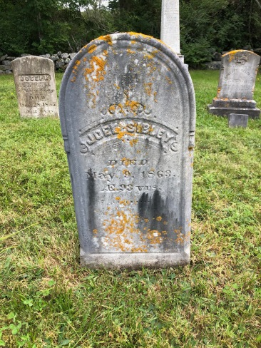 Joel Sibley's headstone