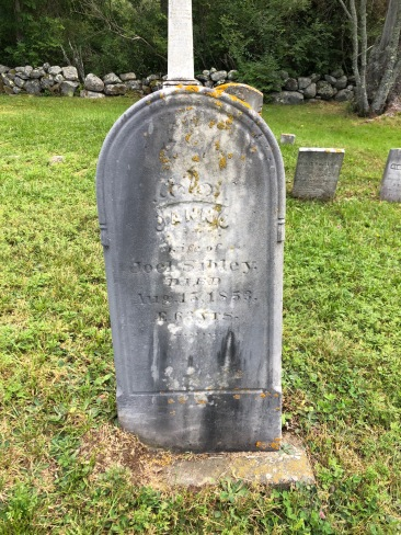Ann (Tibbets) Sibley's headstone